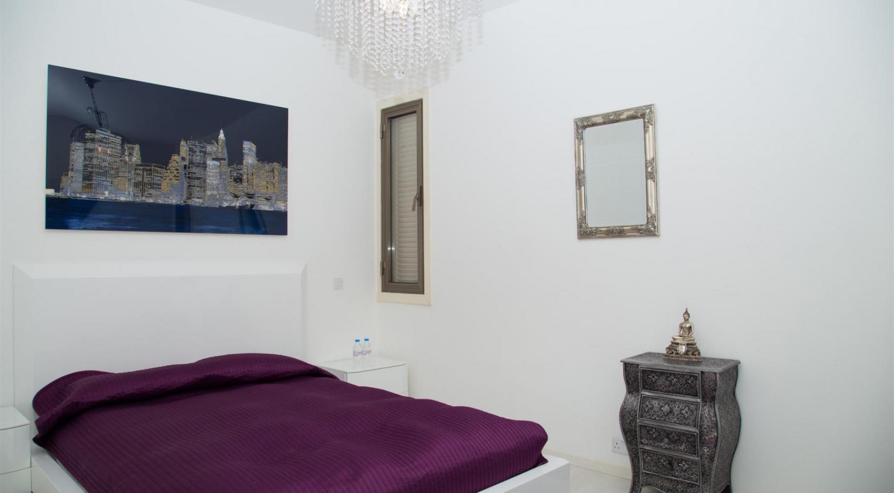 Современная 3-Спальная Квартира Категории Люкс на Берегу Моря в Комплексе Thera   - 19