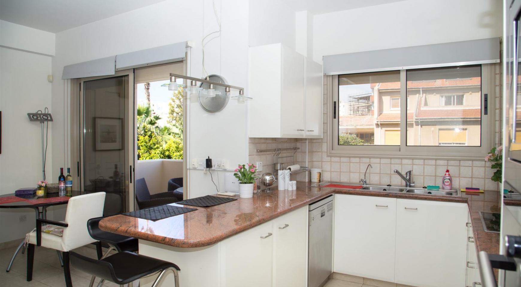 Современная 3-Спальная Квартира возле Моря в Районе  Enaerios - 5