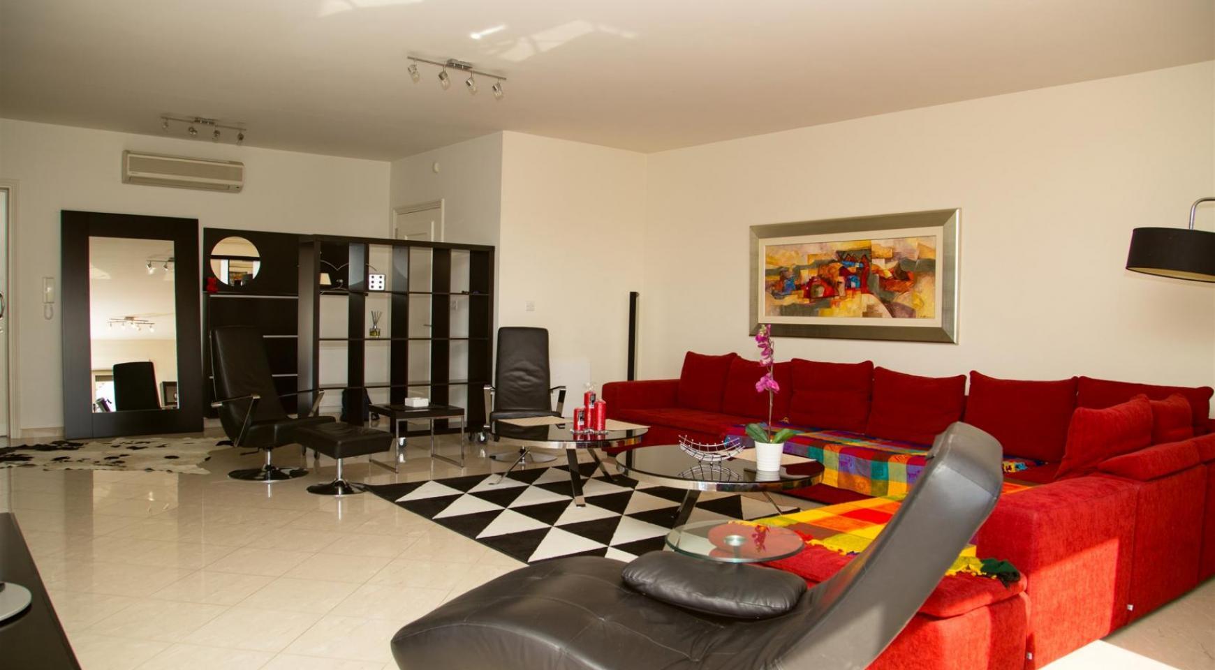 Современная 3-Спальная Квартира возле Моря в Районе  Enaerios - 3