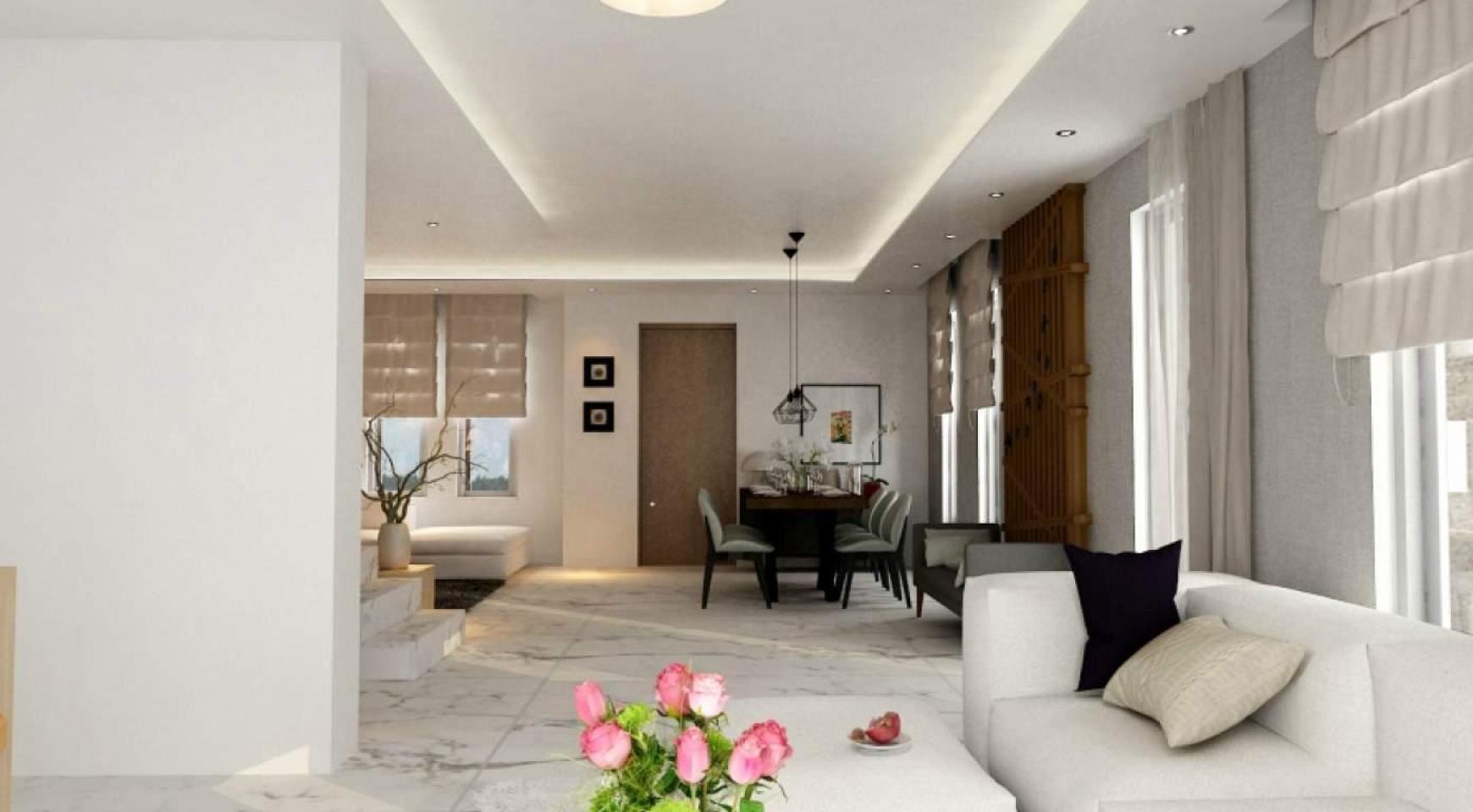 Новый Современный 4-Спальный Дом в Районе Leivadia - 10