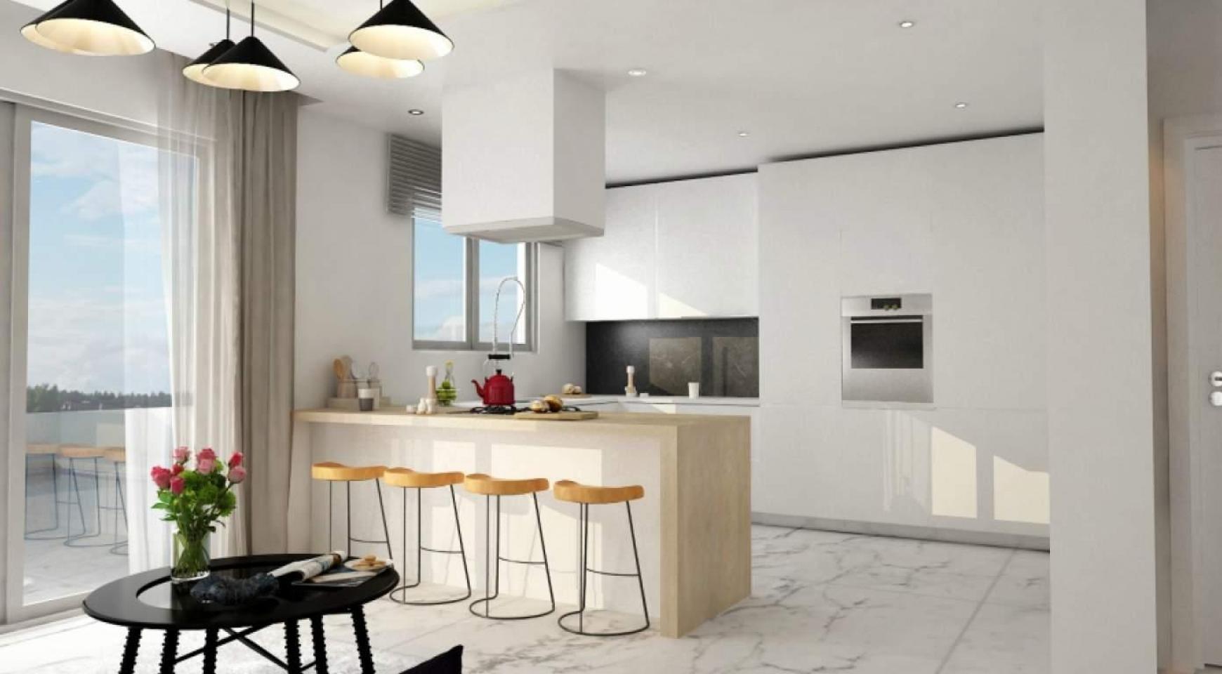 Новый Современный 4-Спальный Дом в Районе Leivadia - 14