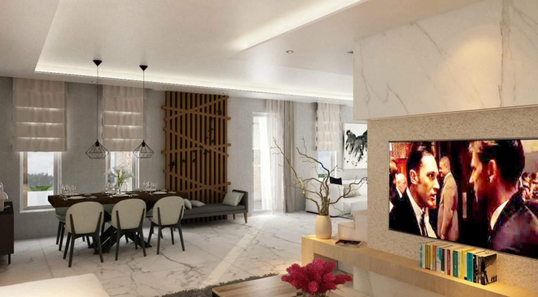 Новый Современный 4-Спальный Дом в Районе Leivadia - 13