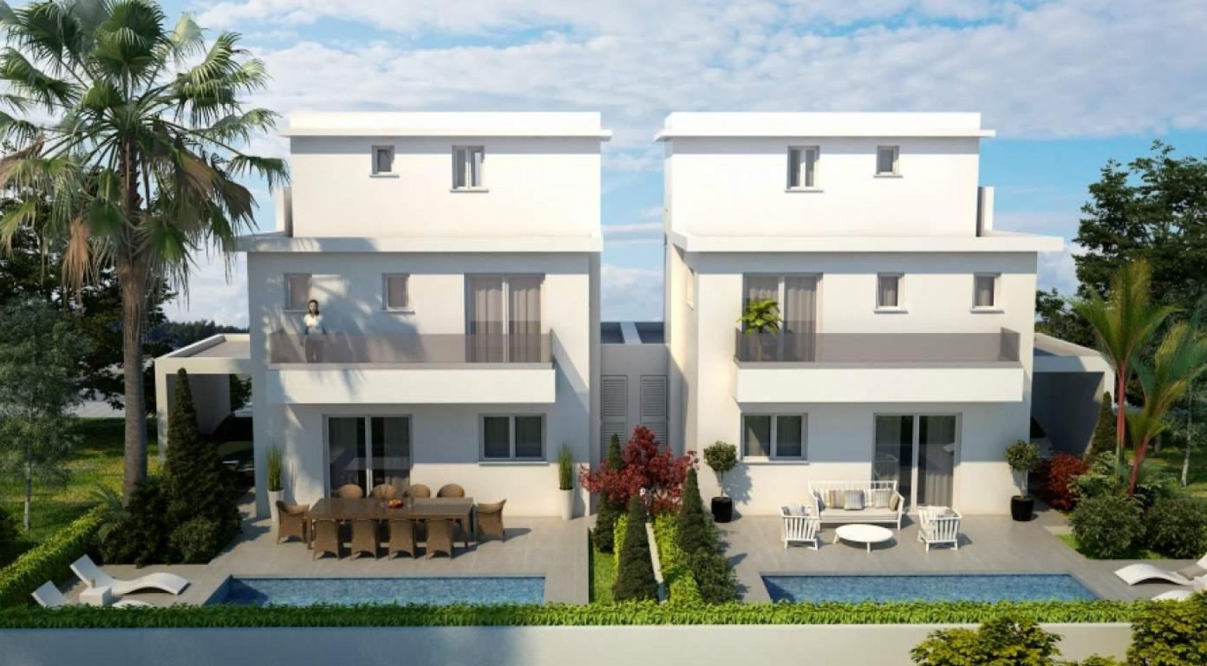 Новый Современный 4-Спальный Дом в Районе Leivadia - 5