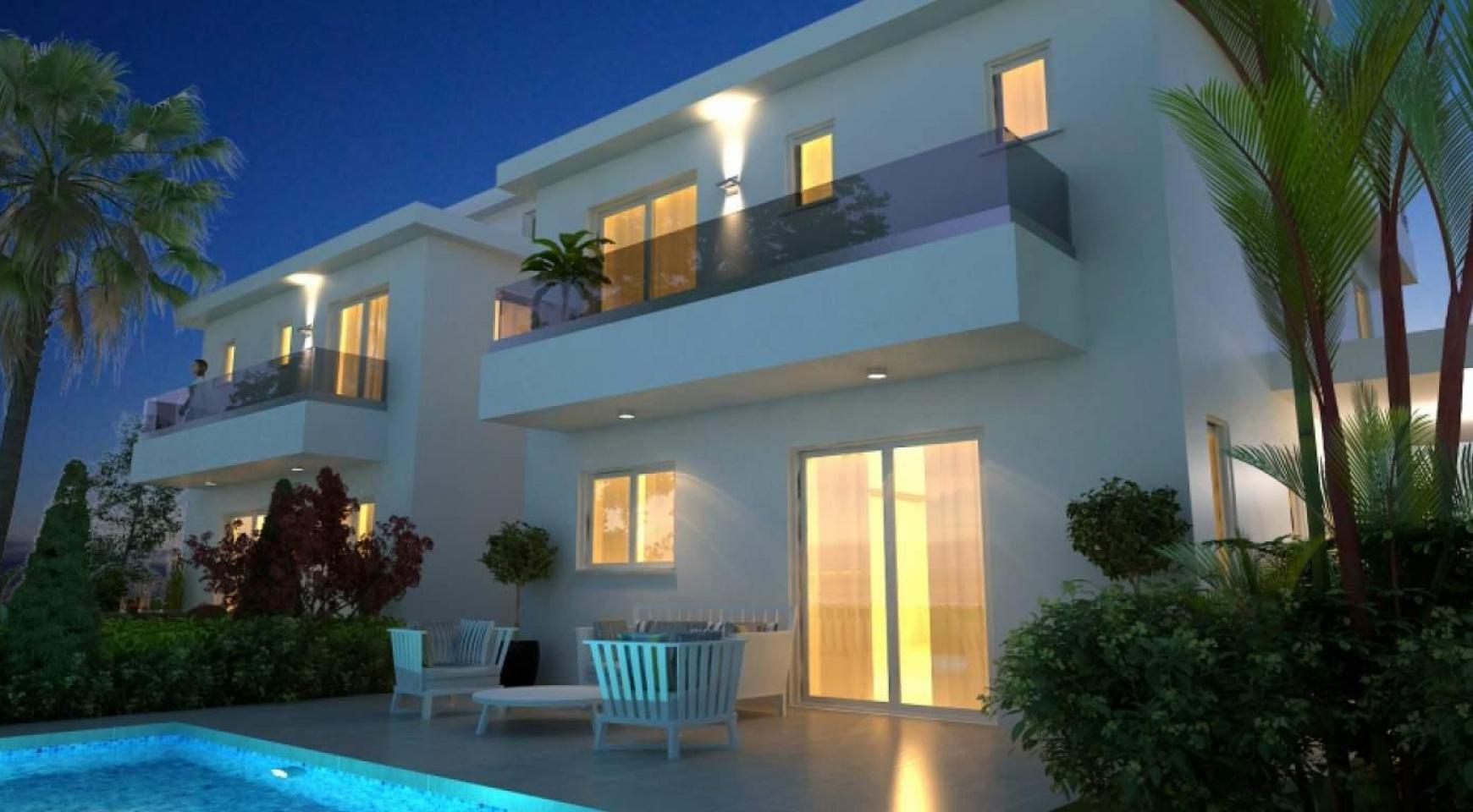 Новый Современный 4-Спальный Дом в Районе Leivadia - 2