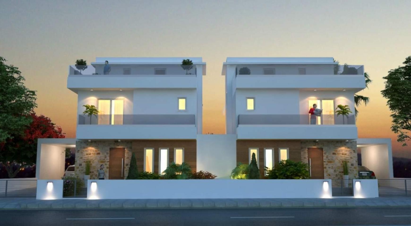 Красивый 4-Спальный Дом в Районе Oroklini  - 3