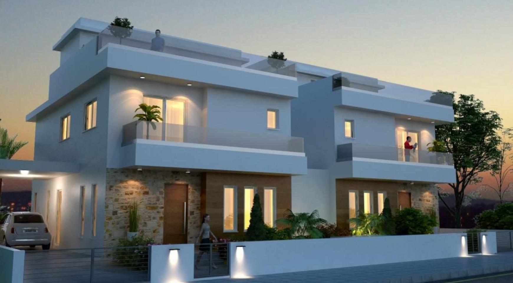 Красивый 4-Спальный Дом в Районе Oroklini  - 5