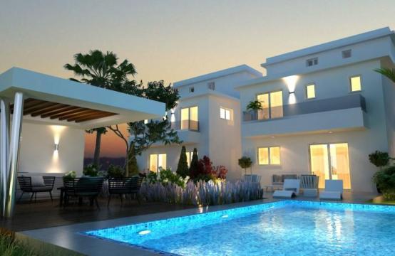 Красивый 4-Спальный Дом в Районе Oroklini