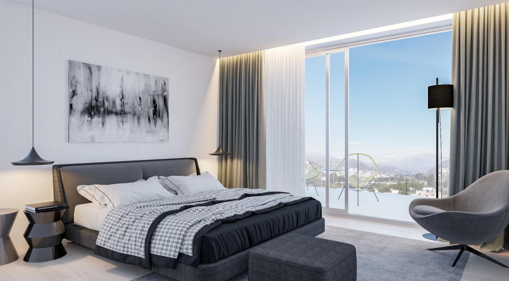 Современная 3-Спальная Квартира в Новом Комплексе - 11
