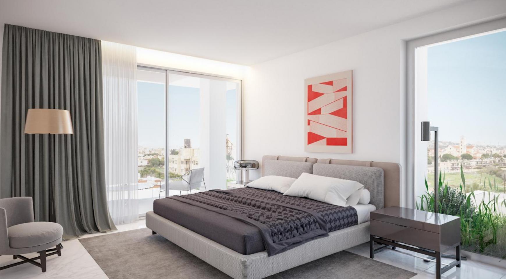 Современная Двухуровневая Квартира с 2-мя Спальнями - 9