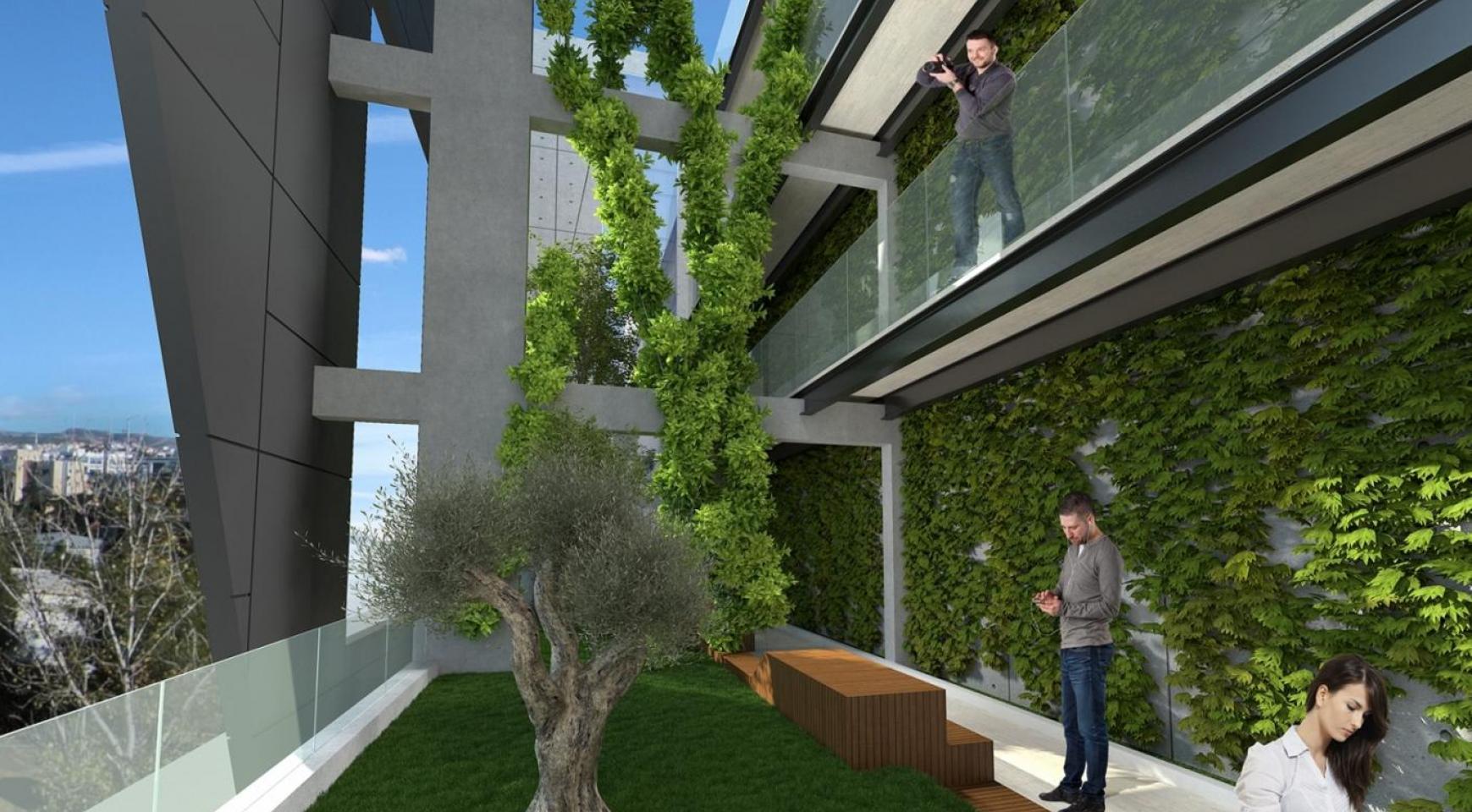 Современное Многоквартирное Здание в Центре Города - 9