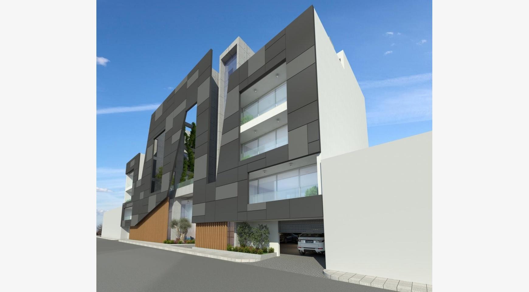 Современное Многоквартирное Здание в Центре Города - 3