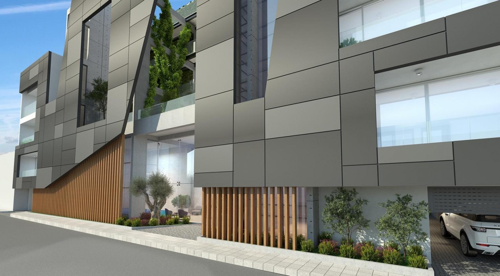 Современное Многоквартирное Здание в Центре Города - 5