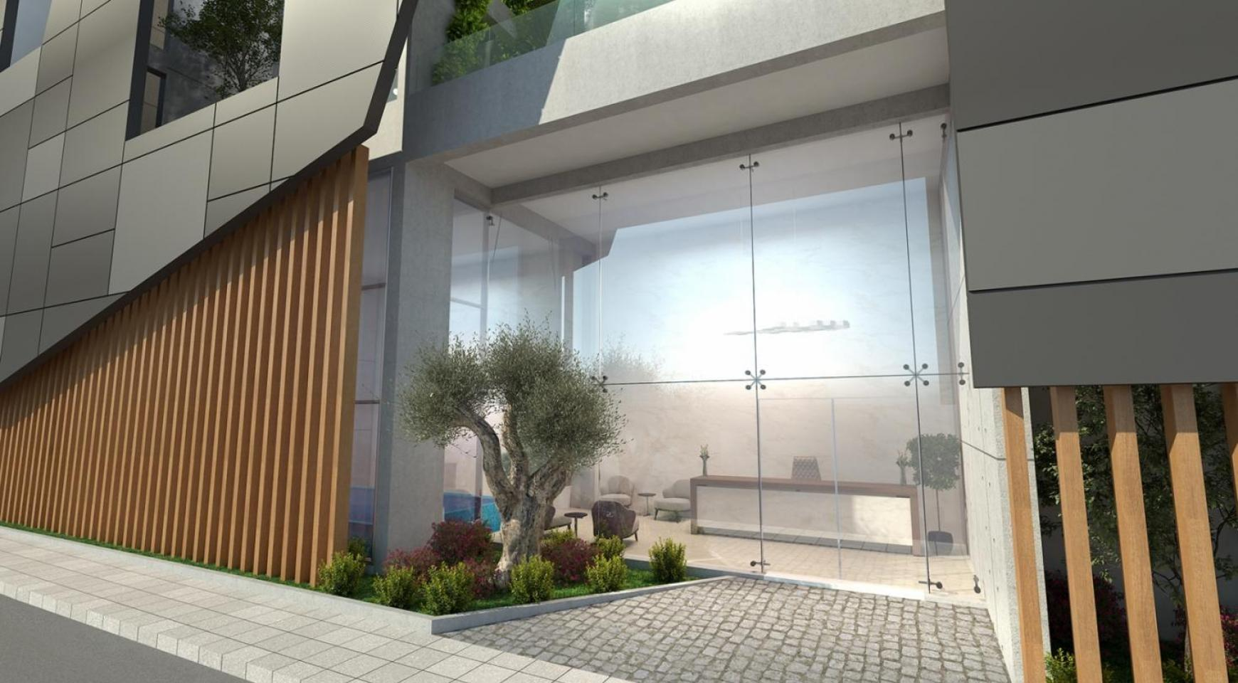 Современное Многоквартирное Здание в Центре Города - 6