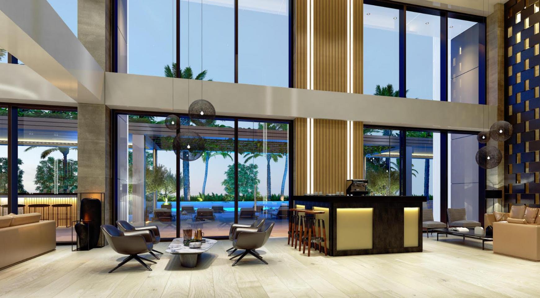 Современная 3-Спасльная Квартира с Видом на Море в Элитном Комплексе - 11