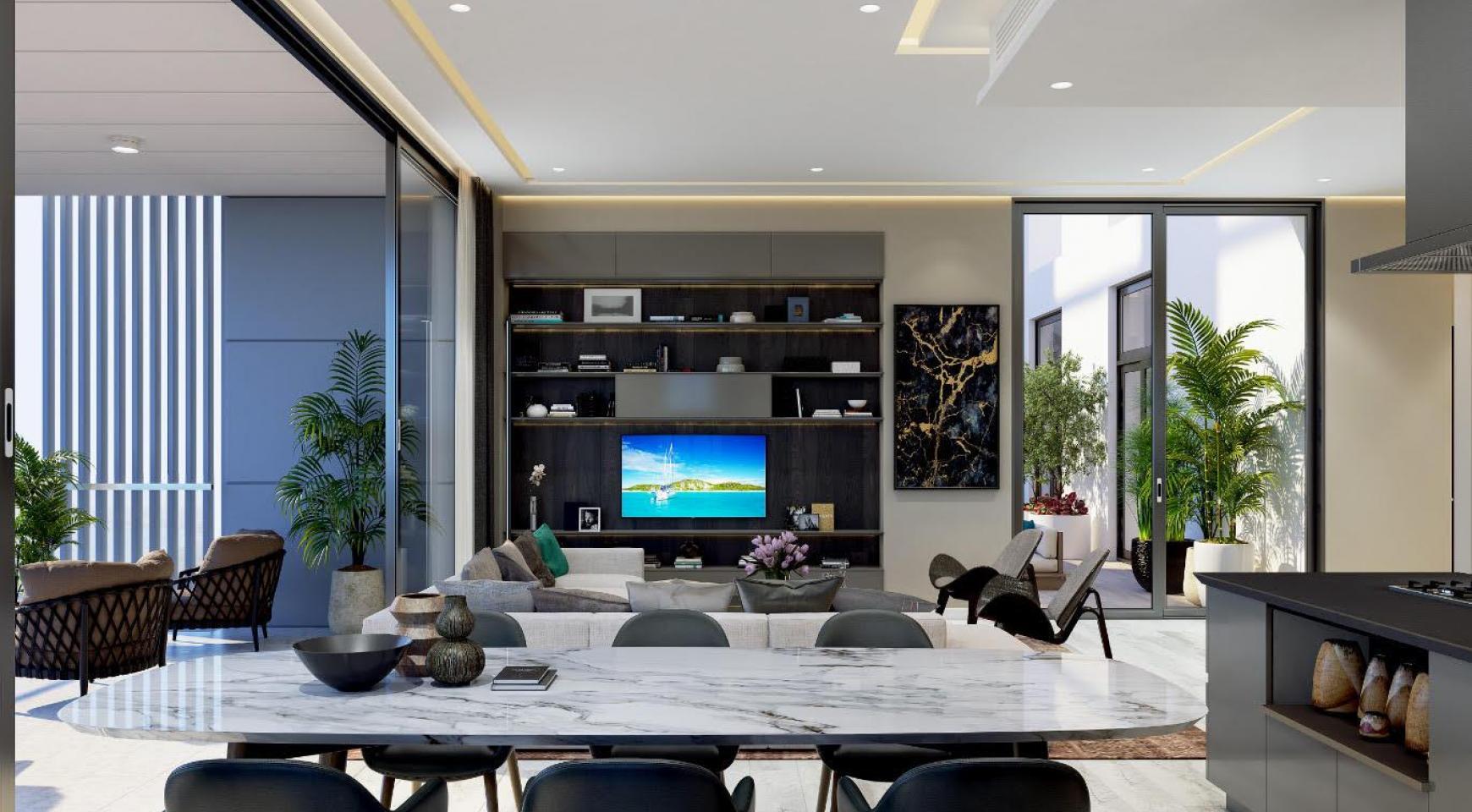 Современная 3-Спасльная Квартира с Видом на Море в Элитном Комплексе - 7