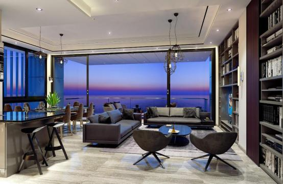 3-Спальная Квартира с Видом на Море в Элитном Комплексе