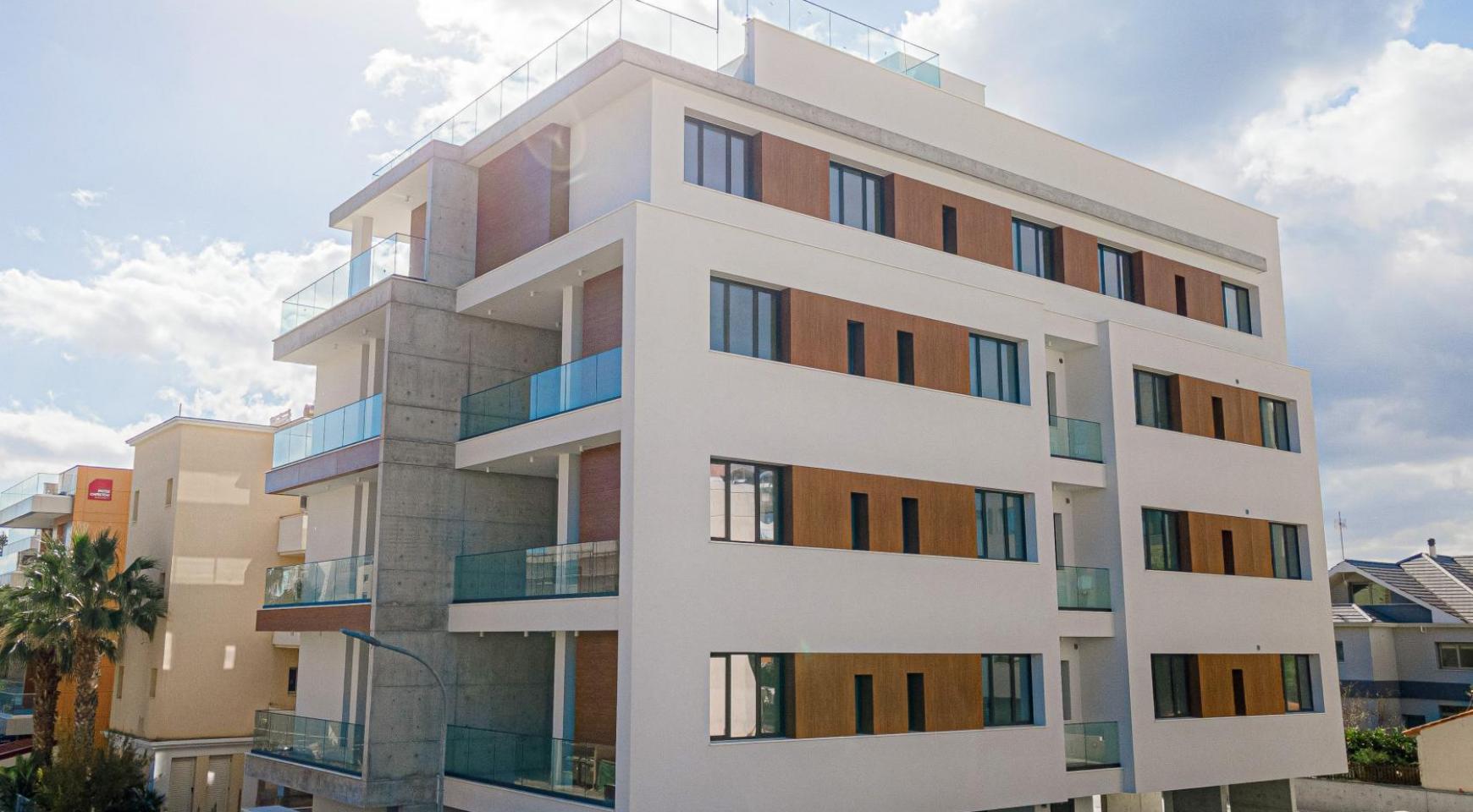 Hortensia Residence, Кв. 102. 2-Спальная Квартира в Новом Комплексе возле Моря - 4