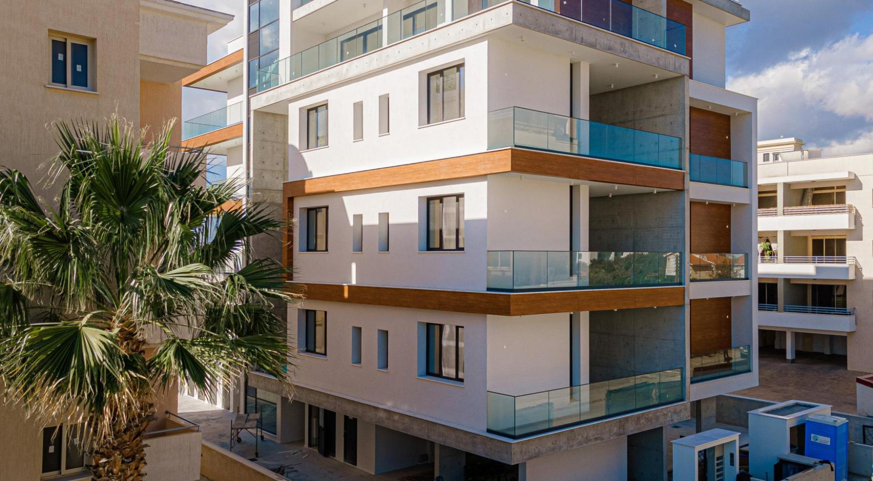 Hortensia Residence, Кв. 102. 2-Спальная Квартира в Новом Комплексе возле Моря - 5