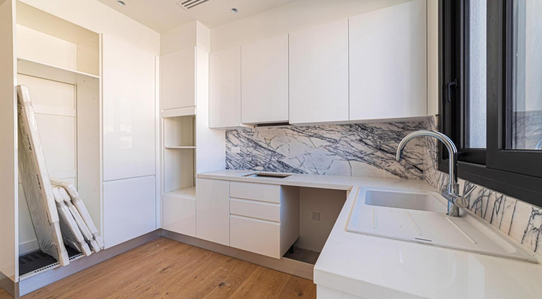 Hortensia Residence, Кв. 102. 2-Спальная Квартира в Новом Комплексе возле Моря - 22