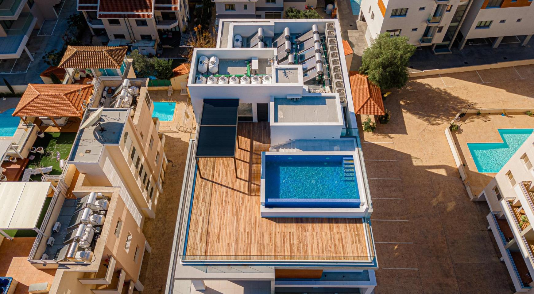 Hortensia Residence, Кв. 102. 2-Спальная Квартира в Новом Комплексе возле Моря - 8