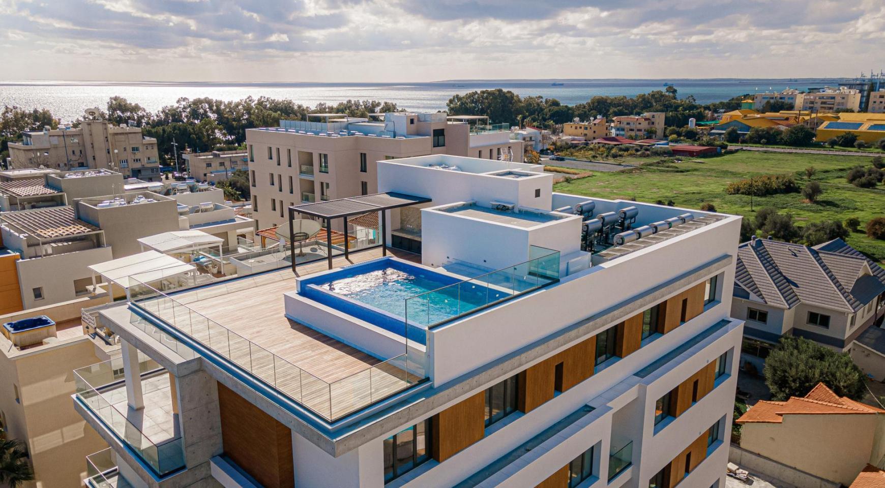 Hortensia Residence, Кв. 102. 2-Спальная Квартира в Новом Комплексе возле Моря - 1