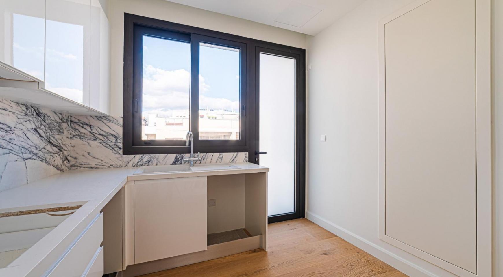 Hortensia Residence, Кв. 102. 2-Спальная Квартира в Новом Комплексе возле Моря - 24