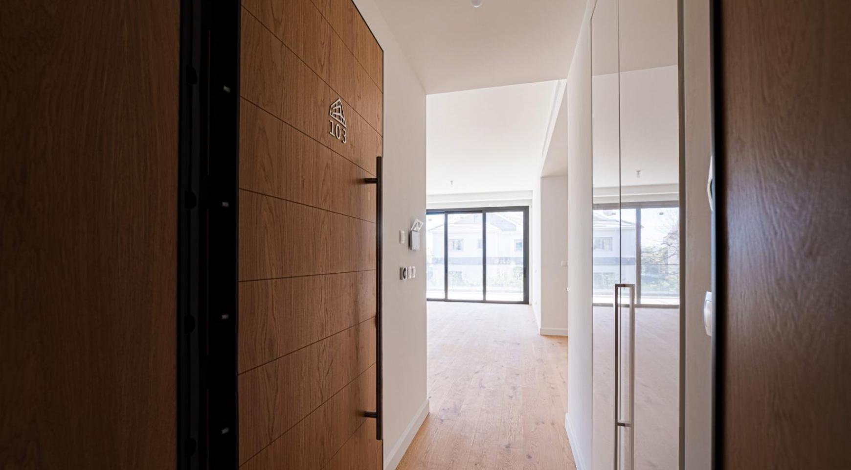 Hortensia Residence, Кв. 103. 3-Спальная Квартира в Новом Комплексе возле Моря - 16