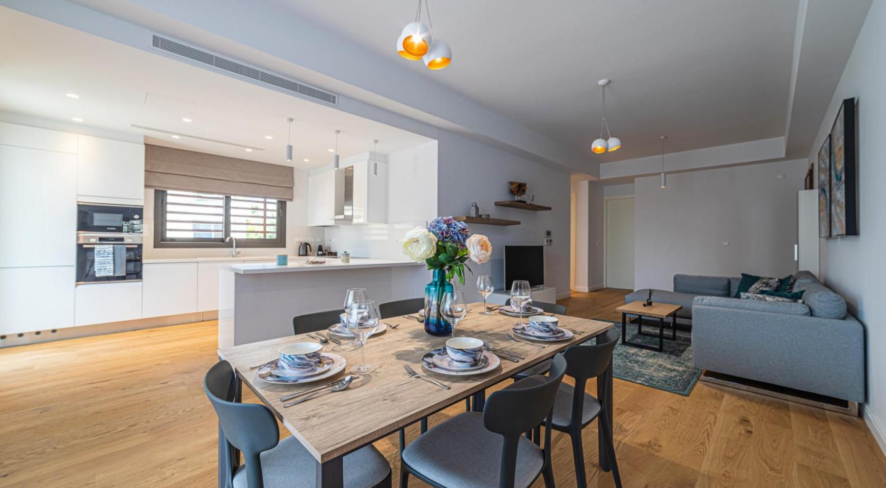 Hortensia Residence, Кв. 103. 3-Спальная Квартира в Новом Комплексе возле Моря - 52
