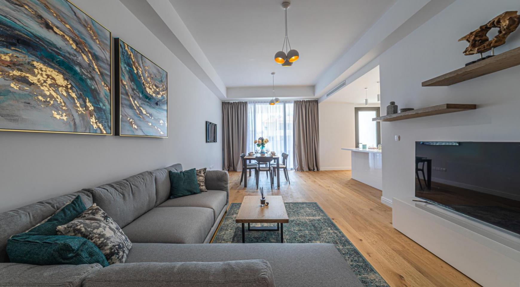Hortensia Residence, Кв. 103. 3-Спальная Квартира в Новом Комплексе возле Моря - 54
