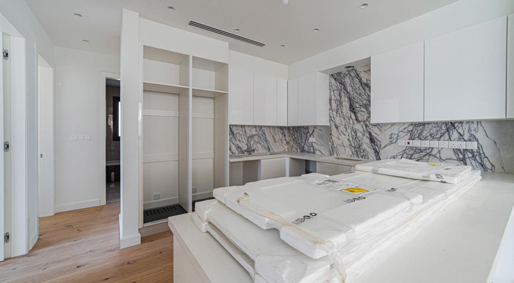 Hortensia Residence, Кв. 103. 3-Спальная Квартира в Новом Комплексе возле Моря - 21