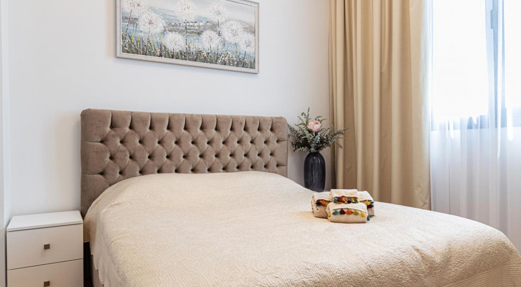 Hortensia Residence, Кв. 203 . 3-Спальная Квартира в Новом Комплексе возле Моря - 25