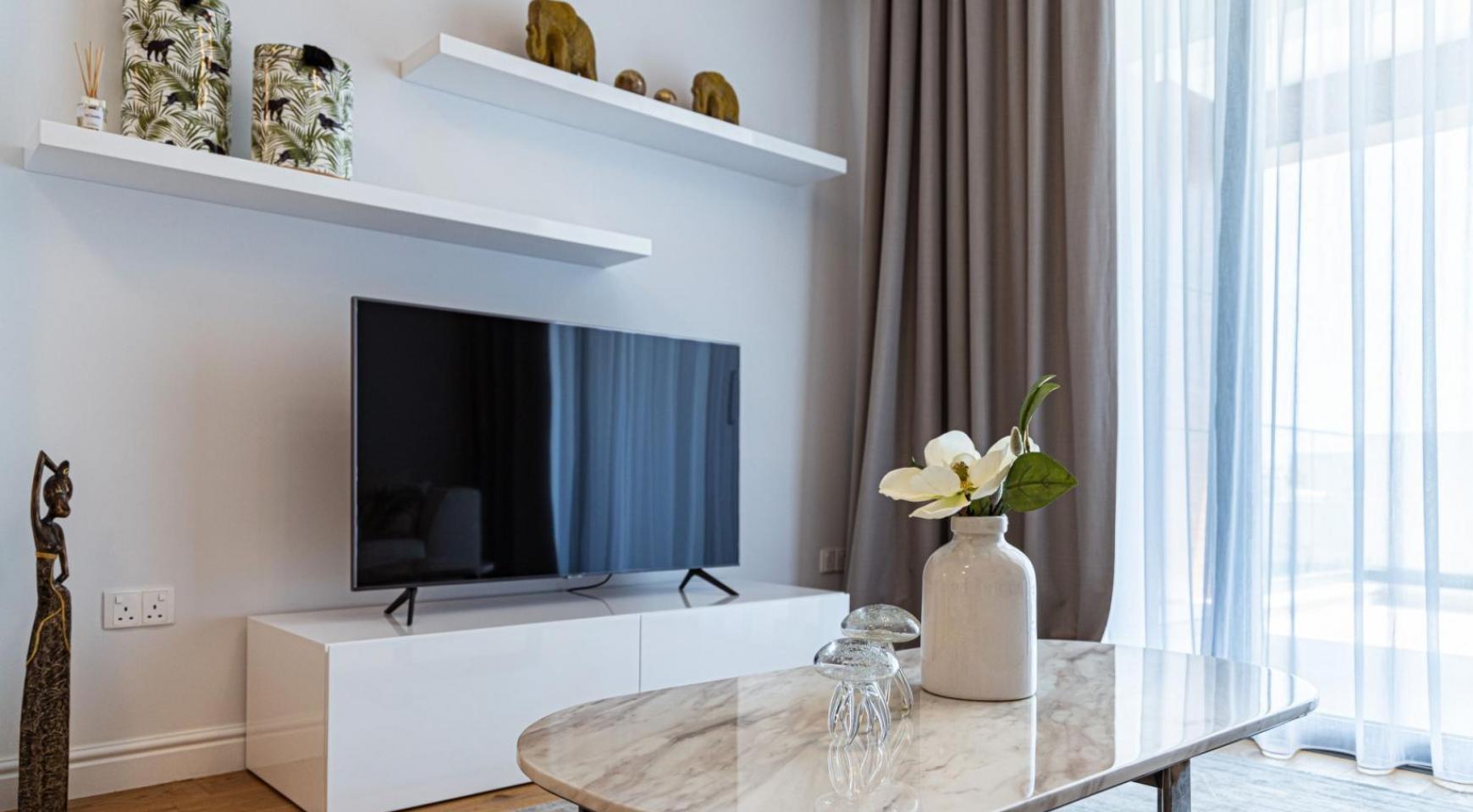 Hortensia Residence, Кв. 203 . 3-Спальная Квартира в Новом Комплексе возле Моря - 14