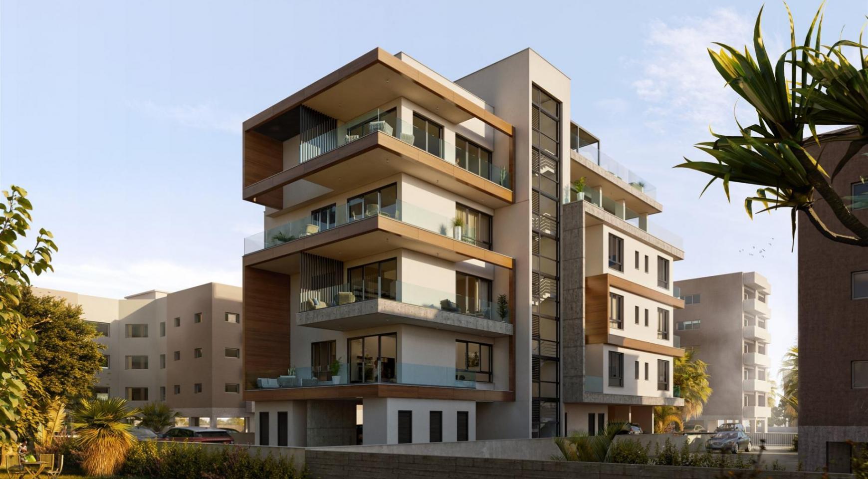 Hortensia Residence. Элитная 3-Спальная Квартира 203 возле Моря - 8