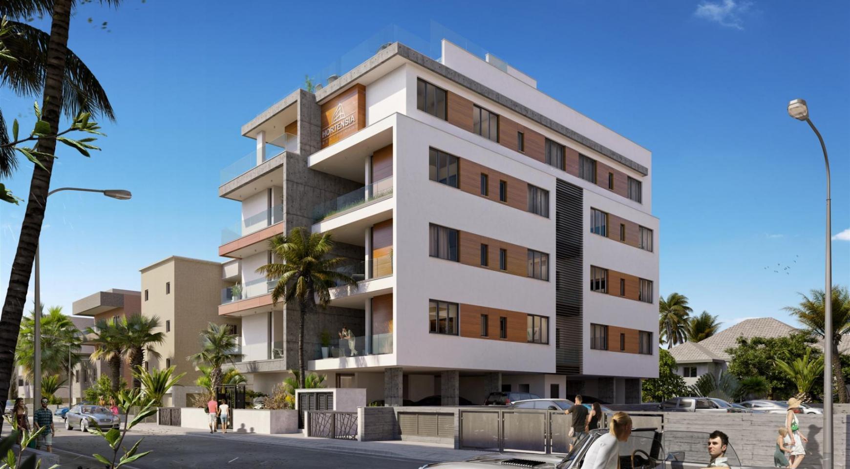 Hortensia Residence. Элитная 3-Спальная Квартира 203 возле Моря - 2