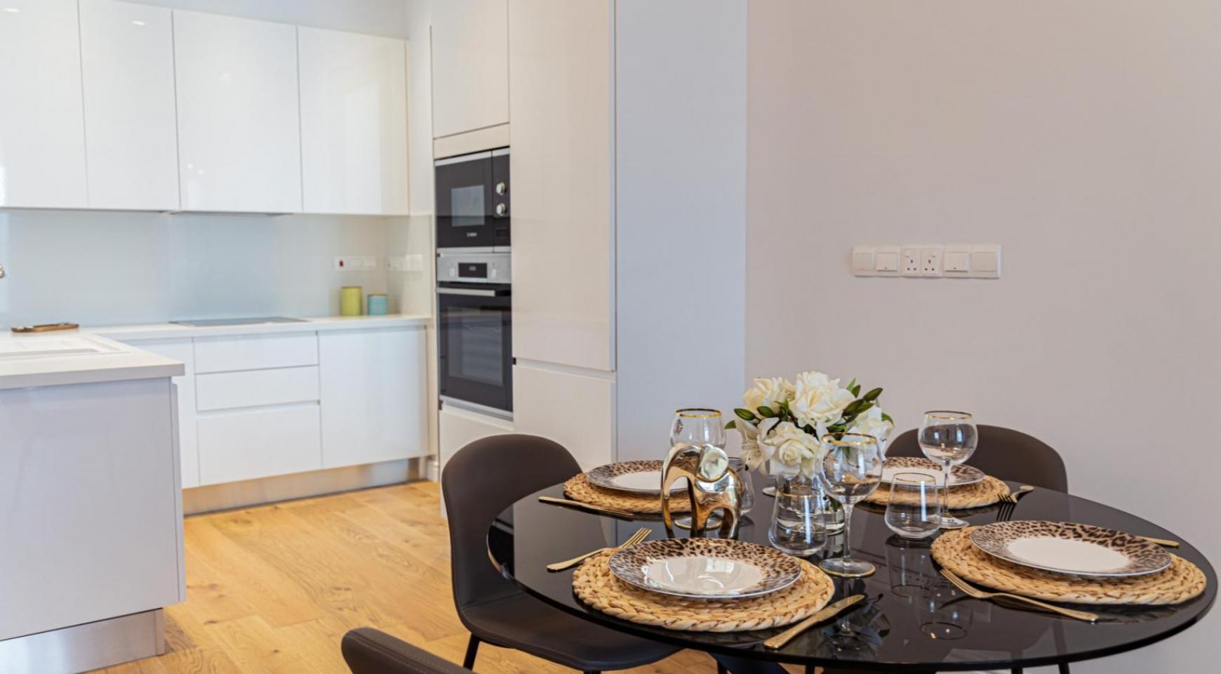 Hortensia Residence, Кв. 203 . 3-Спальная Квартира в Новом Комплексе возле Моря - 17
