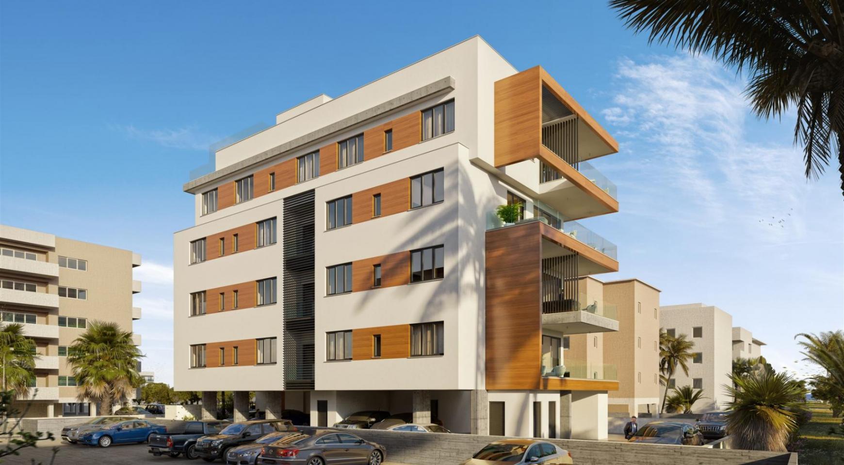 Hortensia Residence. Элитная 3-Спальная Квартира 203 возле Моря - 7