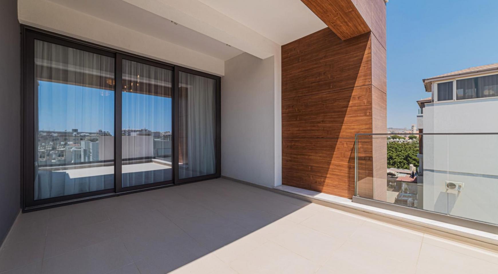 Hortensia Residence, Кв. 203 . 3-Спальная Квартира в Новом Комплексе возле Моря - 28