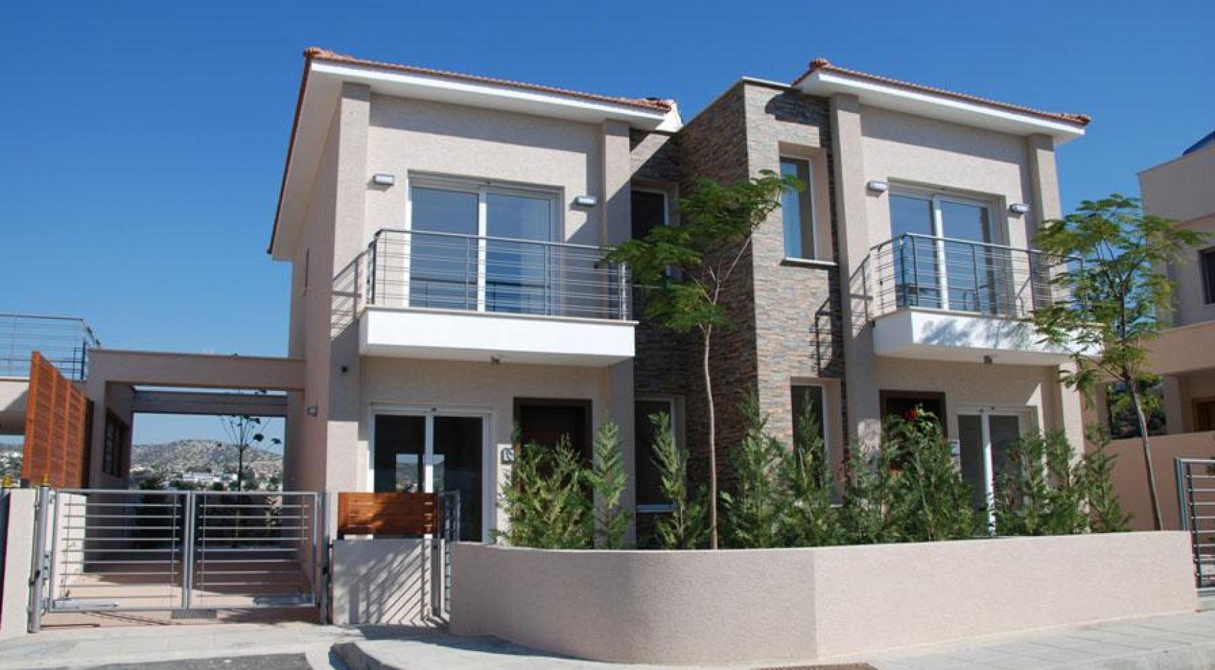 Новый 2-Спальный Дом с Видом на Море и Горы в Месовуния - 3
