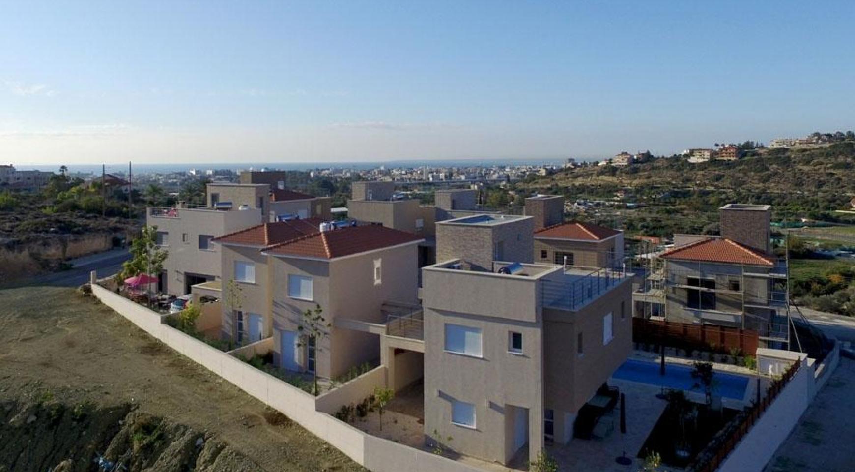 Новый 2-Спальный Дом с Видом на Море и Горы в Месовуния - 8