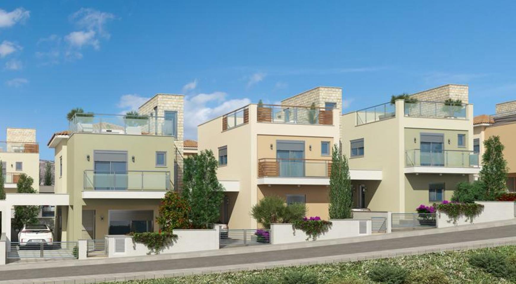 Новый 2-Спальный Дом с Видом на Море и Горы в Месовуния - 9