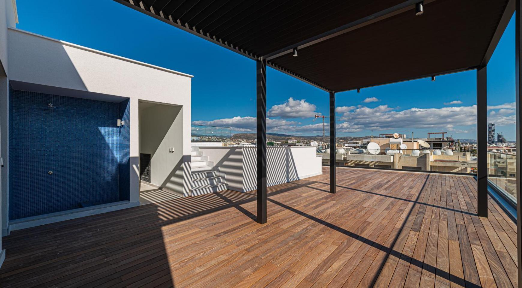 Hortensia Residence, Кв. 201. 2-Спальная Квартира в Новом Комплексе возле Моря - 12