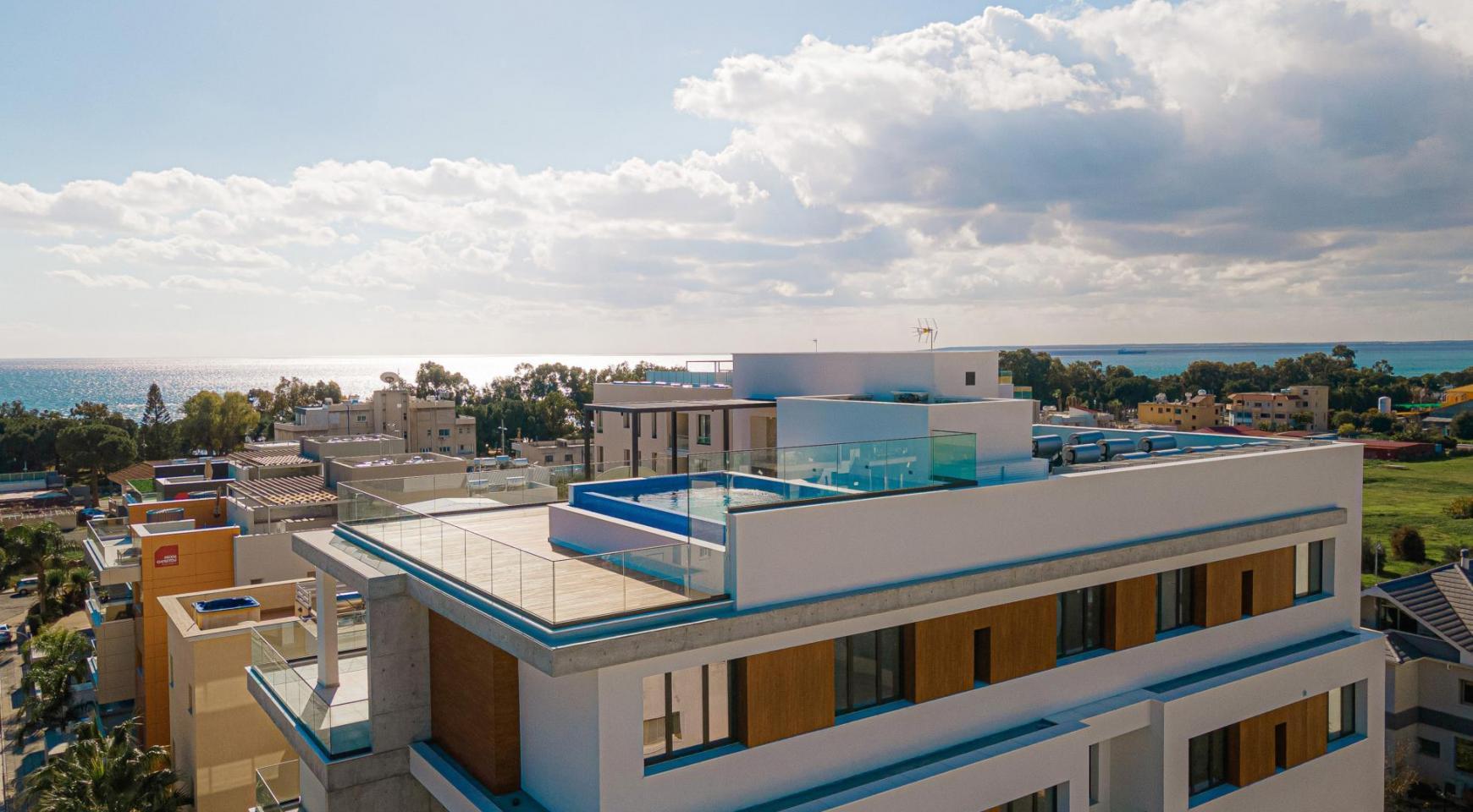 Hortensia Residence, Кв. 201. 2-Спальная Квартира в Новом Комплексе возле Моря - 6