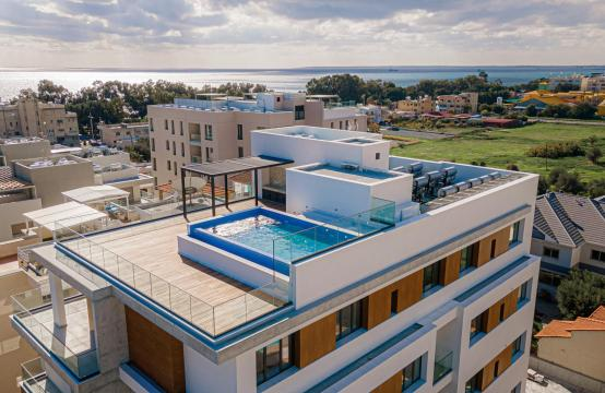 Hortensia Residence, Кв. 201. 2-Спальная Квартира в Новом Комплексе возле Моря