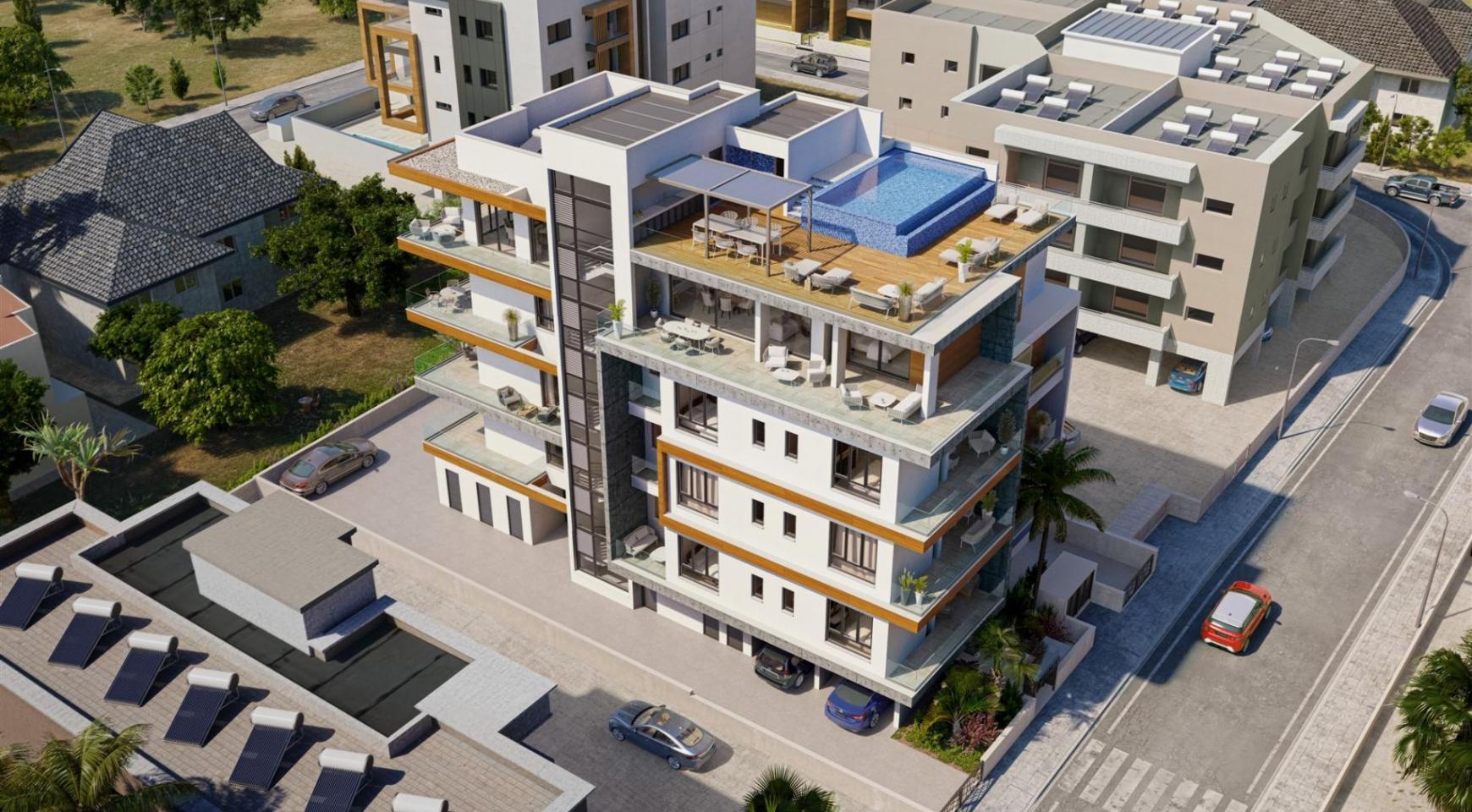 Hortensia Residence. Элитная 3-Спальная Квартира 303 возле Моря - 5