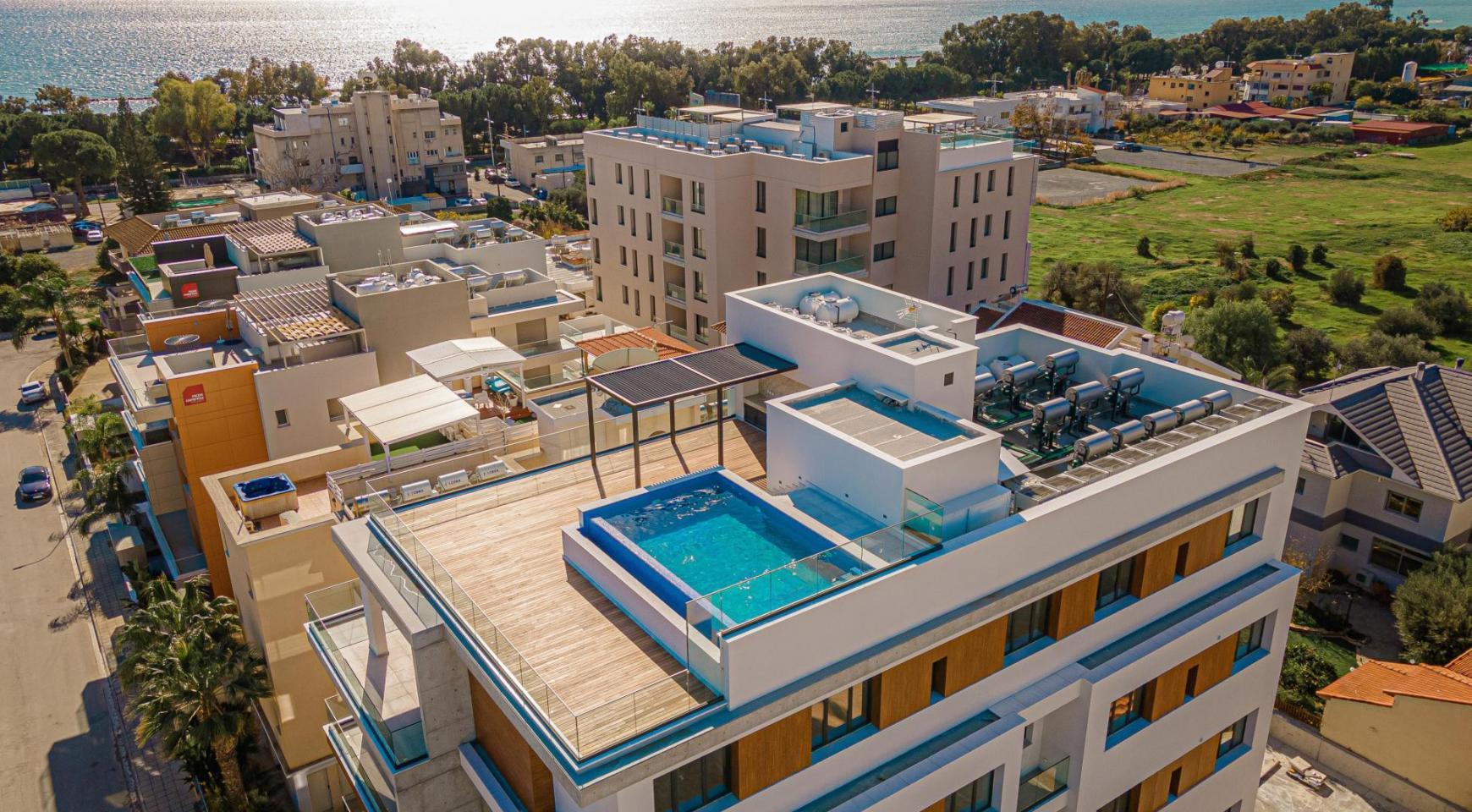 Hortensia Residence, Кв. 302. 2-Спальная Квартира в Новом Комплексе возле Моря - 3