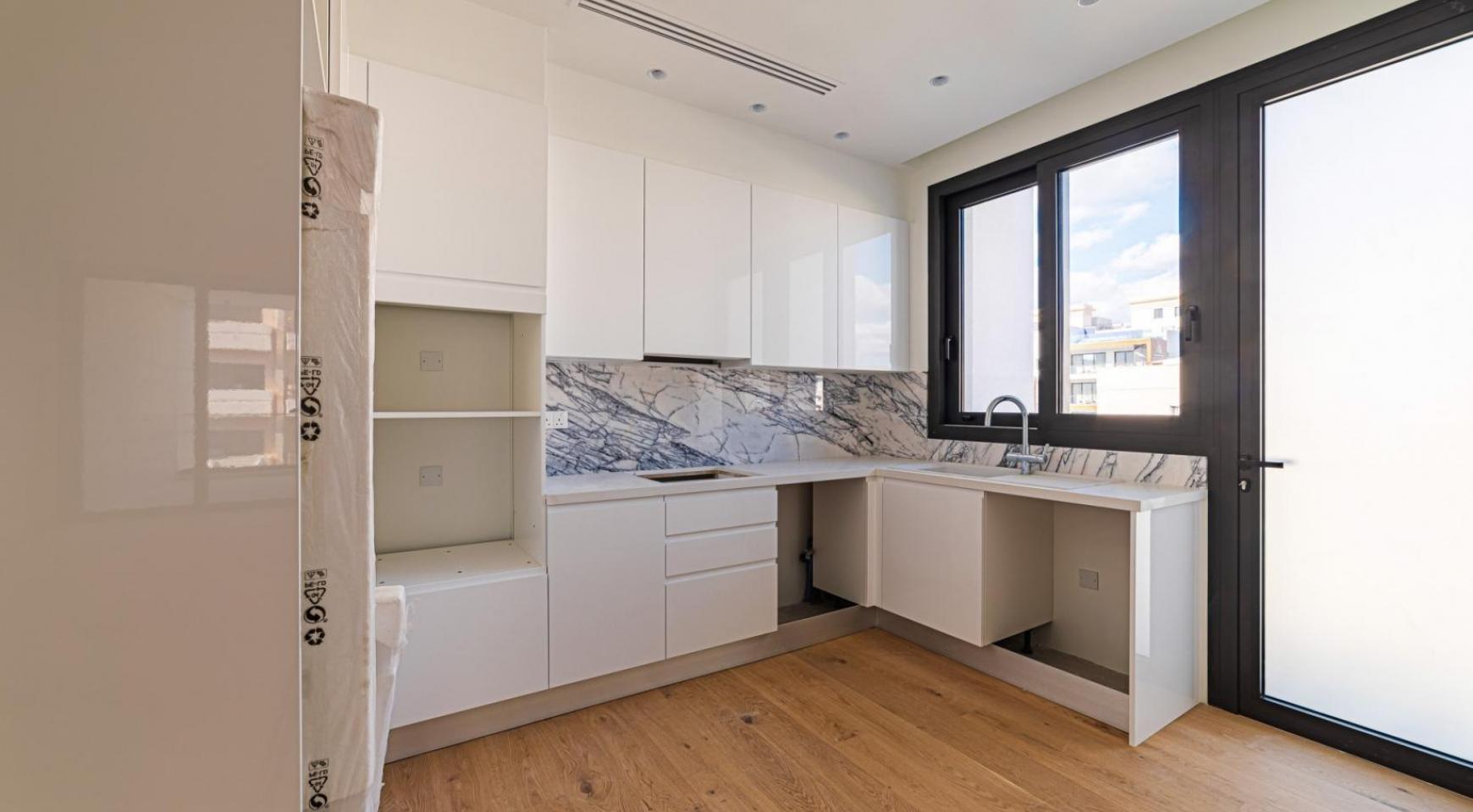 Hortensia Residence, Кв. 302. 2-Спальная Квартира в Новом Комплексе возле Моря - 21