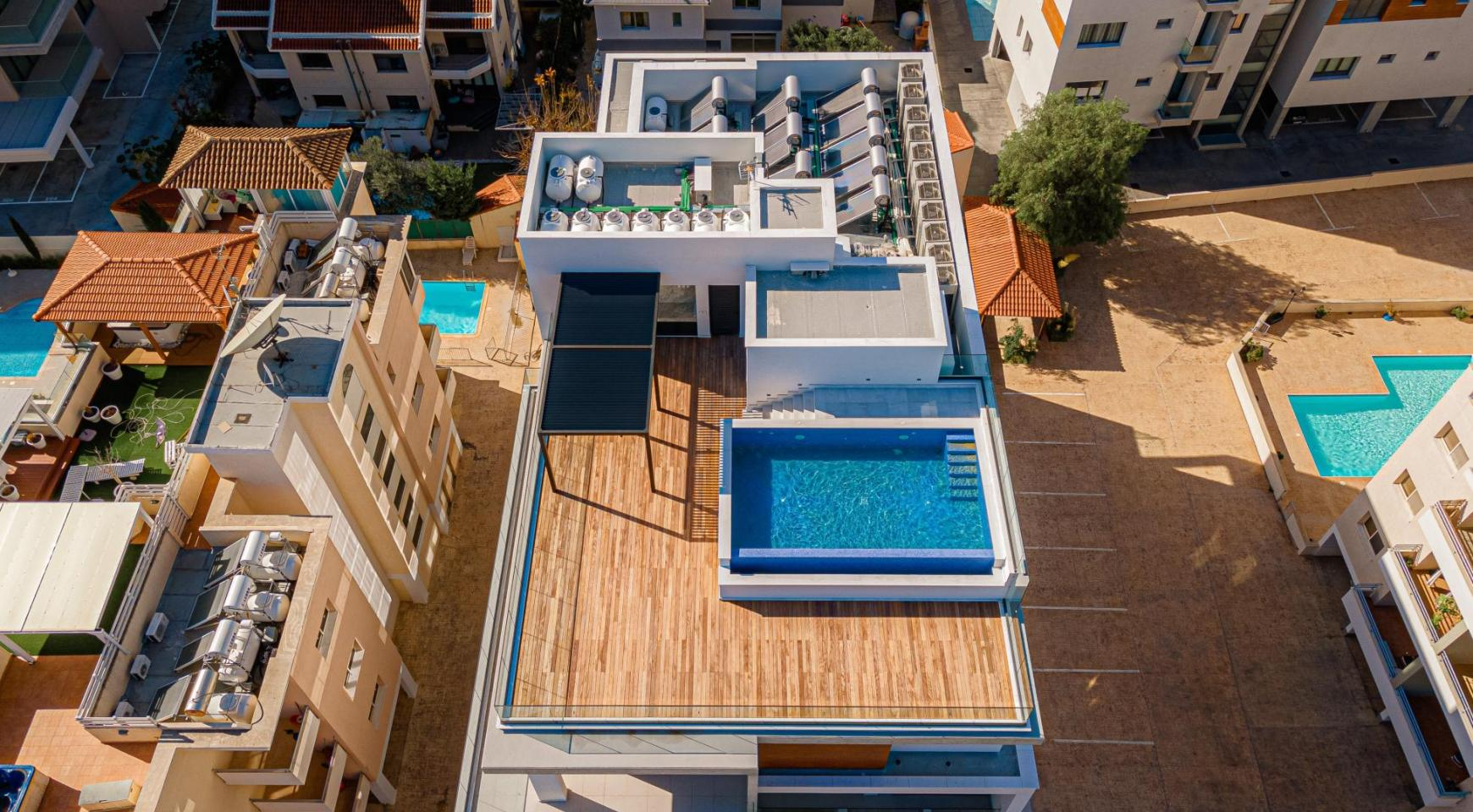 Hortensia Residence, Кв. 301. 2-Спальная Квартира в Новом Комплексе возле Моря - 8