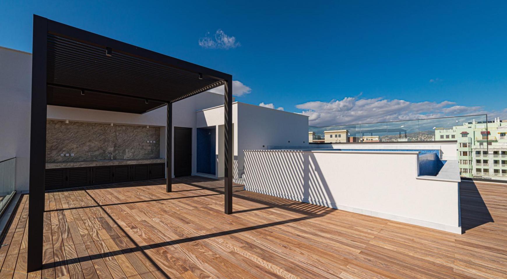 Hortensia Residence, Кв. 301. 2-Спальная Квартира в Новом Комплексе возле Моря - 9