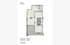 Hortensia Residence, Кв. 301. 2-Спальная Квартира в Новом Комплексе возле Моря - 131