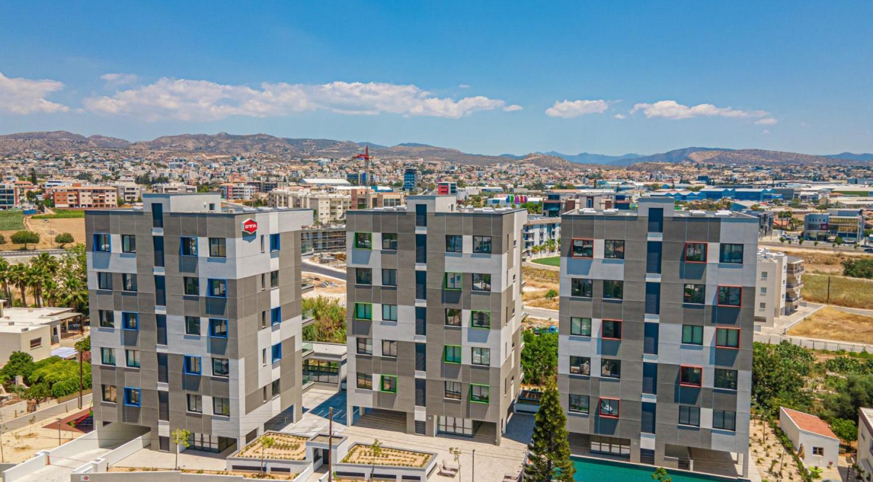 Urban City Residences, Кв. C 202. 2-Спальная Квартира в Новом Комплексе в Центре Города - 3